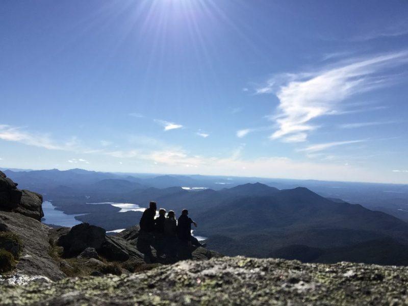 adirondacks mountain view
